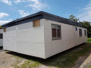 12m x 6m Site Office with 2 separate internal rooms